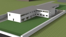 Centre social à Landim – foyer, logement des personnes âgées